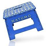 NATUMO®, sgabello pieghevole di alta qualità, 150 kg, pieghevole, da cucina, da bagno, pieghevole, da giardino, per bambini e adulti