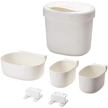 IKEA 990105 ÖNSKLIG Corbeilles table à langer Plastique Blanc 27 x 23 x 26 cm