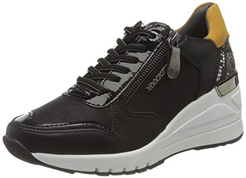 Dockers by Gerli Women's Low-Top Sneakers, Schwarz, US 7.5