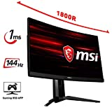 MSI Optix MAG271CR LCD Monitor Gaming 27' Curvo, 144 Hz, 1ms, RGB