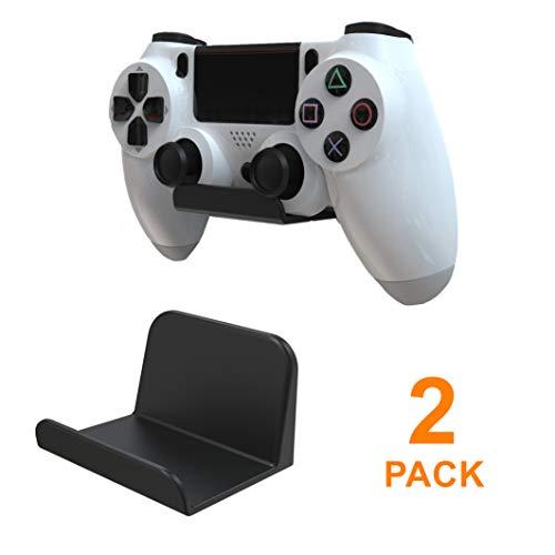 sciuU Wandhalterung für Kopfhörer / Controller, [2 Stück] Halter, Selbstklebende 3M Kleiderbügel, Universal Hook Zubehör für Gamepad auf XBox / PS5 / PS4 / Nintendo, ohne Schrauben