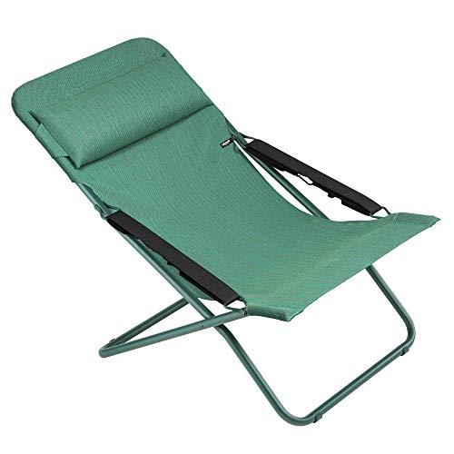 Lafuma Transabed XL Plus Farou Green Chaise longue