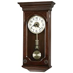 Howard Miller Jasmine Chiming Clock (Hampton Cherry) (27 H x 14 W x 5 D)