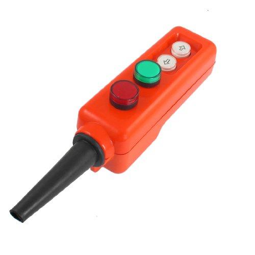 Rouge Vert Lampe LED haut-basstencils Palan à main fonctionner à interrupteur 12 V