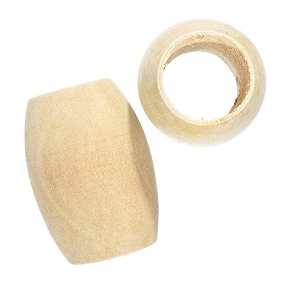 Paracord Planet Wood Beads – Oval – 3/4-Inch Hole Size – Available in a Variety of Pack Sizes