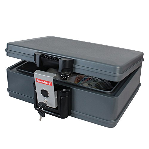First Alert–Geldkassette, feuerfest, geeignet zum Transport Lipo-Beuteln, 41x 32,4x 15,5cm