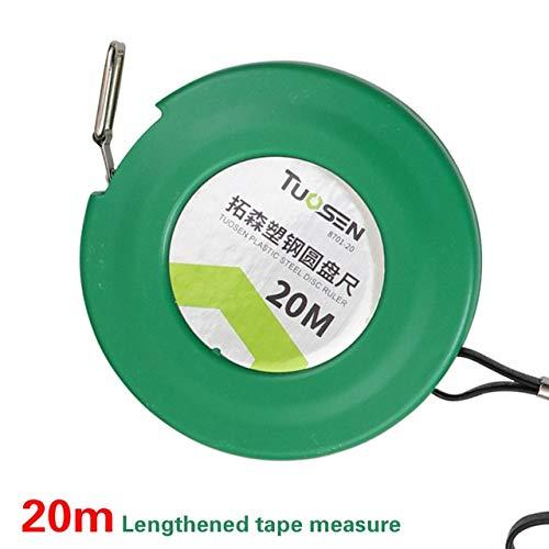 Cinta métrica de 50 m, medidor de medición retráctil de 30 m, Ruban, Herramientas de carpintería de medición Profesional de 20 m, medición miaria meetlint - Cinta métrica de 20 m