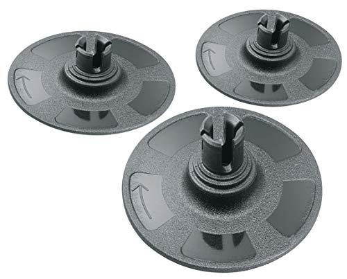 Bosch 3 stuks slijpschijven (Ø 38 mm, accessoires excenterschuurmachine)