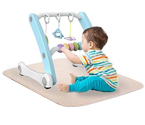 Andador Multifunción Curio color azul. Para bebé.