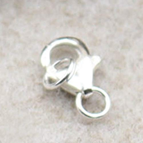 Small Lobster Claw Clasp Anti Tarnish solid 925 Sterling Silver Findings  Repair