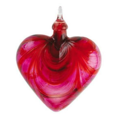 Glass Eye Studio Valentine Heart Ornament