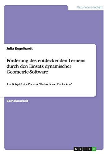 Förderung des entdeckenden Lernens durch den Einsatz dynamischer Geometrie-Software: Am Beispiel des Themas
