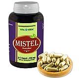 VITA IDEAL ® Mistel-Kraut (Viscum album) 360 Kapseln je 450mg, aus rein natürlichen Kräutern, ohne Zusatzstoffe