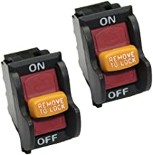Ryobi BD4600 Belt and Disc Sander (2 Pack) Replacement On/Off Switch # BD46125-2pk