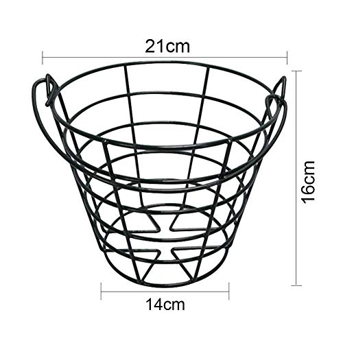 Crestgolf Metal Golf Basket Golfball Container