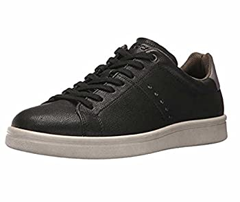ECCO Men s Kallum Casual Fashion Sneaker Black/Titanium 10-10.5