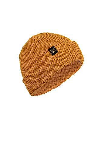 Nitro Snowboards Breach Hat gebreide muts, geel (Tobacco Tobac), één maat (grootte van de fabrikant: OS) voor heren