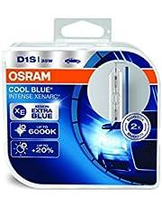Osram 66140CBI-HCB Xenarc Cool Blue Intense D1S HID - Lámpara de Xenón, Lámpara de Descarga, Caja Doble (2Unidades)