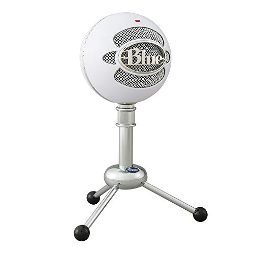 Blue Microphones Yeti Professional Multi-Pattern USB Mic for Recording and Streaming Solo Microfono USB Blue Snowball con Due Versatili Pattern di Pickup per Registrazione, Streaming su PC/Mac, Bianco