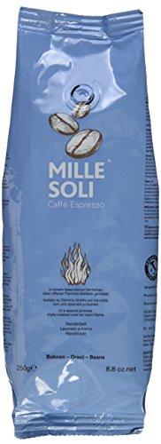 MilleSoli Espresso Bohnen – traditionell dreifach handgeröstet – säurearm - Kaffee ganze Bohnen 1 kg