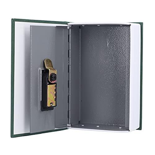 Crisist Libro de Diccionario Caja Fuerte, fácil de Usar Libro de desvío Caja Fuerte Oculta para joyería para Tarjetas bancarias para Tarjetas de identificación