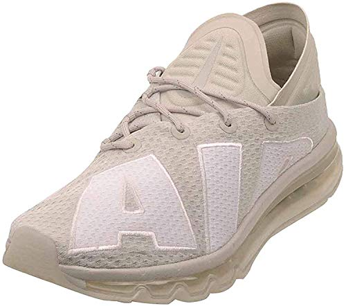 Nike Herren Nike Air Max Flair Running Trainers 942236 Sneakers Shoes licht knochen weiß cool gray 7 uk