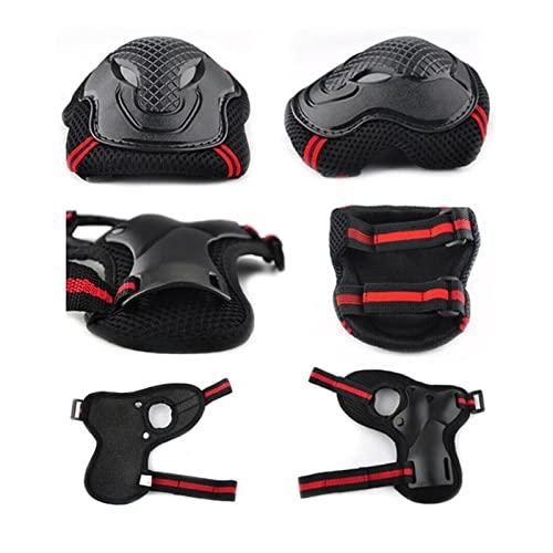 Ginocchiere di alta qualità 6pcs. / Set Pattinaggio protettivo Impostare il salto di ingranaggi a gomito for bicicletta skateboard skateboard ghiaccio skate bici Resistente all'usura e resistente