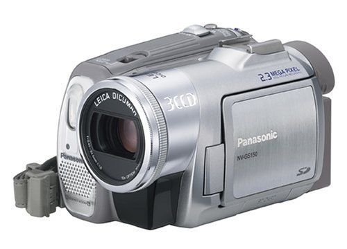 Panasonic NV-GS150EG-S miniDV Camcorder mit 3CCD