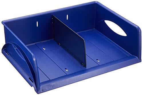 Leitz 52300035 Briefkorb Sorty, A4/C4, Polystyrol, blau