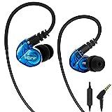 adorer RX6 Sport Kopfhörer In Ear mit Mikrofon IPX4 Spritzwasserfest Stereo Ohrhörer,...