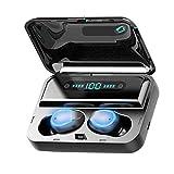 teng hong hui TWS Bluetooth 5.0 Auriculares Touch * Auriculares Bluetooth Auriculares Control del teléfono en la Oreja del Auricular Manos Libres de reducción de Ruido Auriculares Brethable Luz