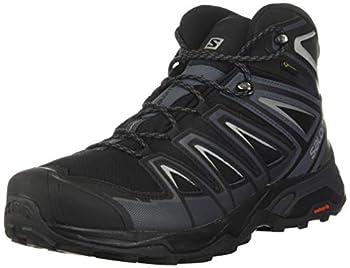 Salomon X Ultra 3 Mid GTX, Chaussures de Randonnée Hautes Homme, Noir (Black/India Ink/Monument), 42 2/3 EU