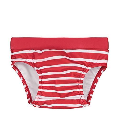 Steiff Baby-Jungen Schwimmwindel, Rot (Tango Red 4008), 68 (Herstellergröße: 068)