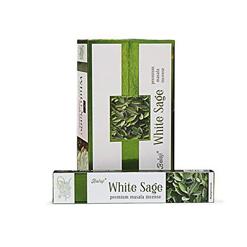AROMASENSES Incienso Salvia Blanca Balaji 15 grs