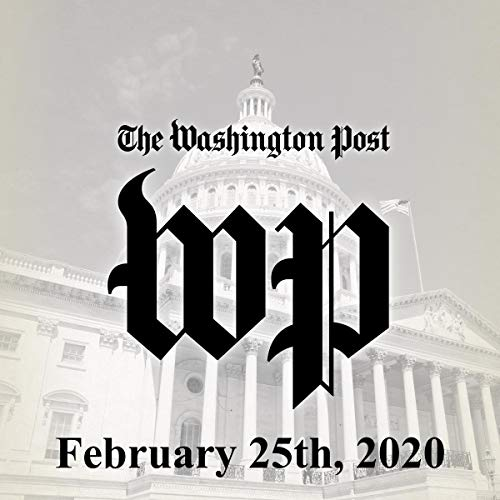 February 25, 2020 copertina