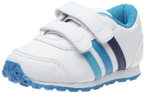 adidas Snice CF I, Zapatillas Multisport Mixta niño, Blanco (Blanc/Bleu vif/Bleu Intense), 22
