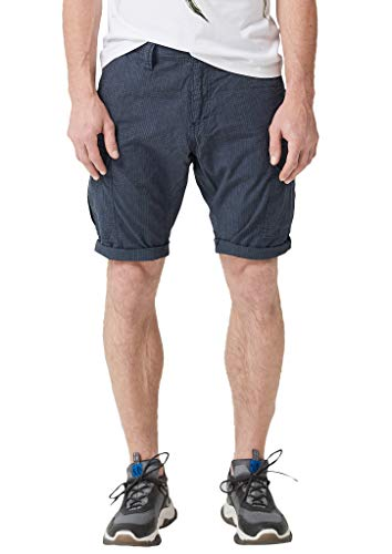 s.Oliver Herren 20.906.74.3783 Shorts, Blau (Night Blue 59n1), W(Herstellergröße: 34)