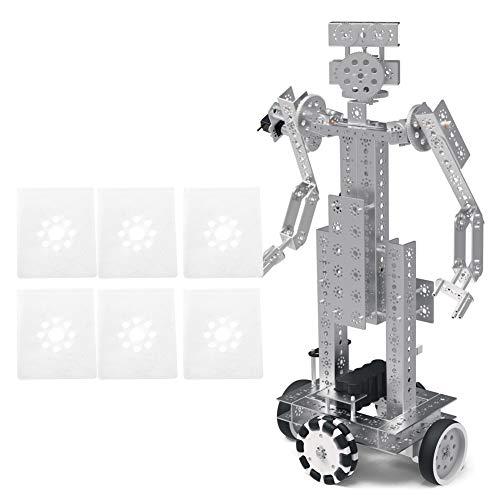 Weikeya 24pcs transportador deflector, 50 x 40mm 1.3mm/0.1in manipulador robot industrial con nylon