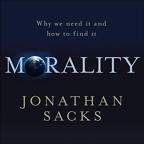 Morality audiobook cover art