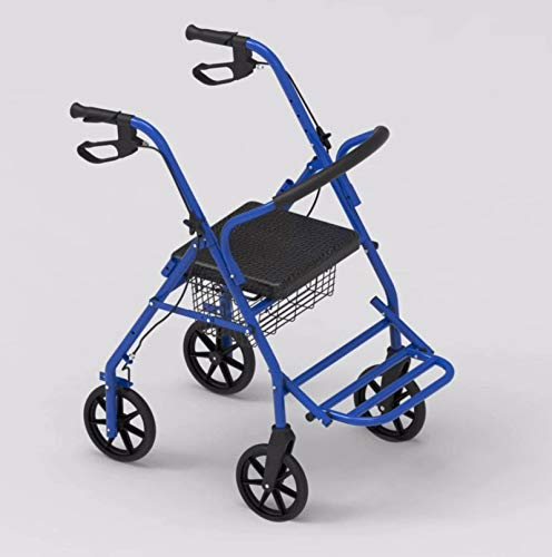N-B Four-Wheeled Elderly Walker, Used To Assist Walking and Shopping