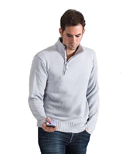 Xfang Herren Thumb Sweater Hoodie Cosplay Kostüm Jacke - Wei� - X-Large