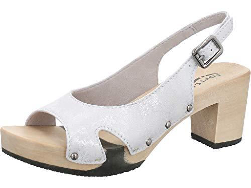 Softclox Damen Sandaletten Raike weiß 637456