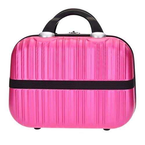 Sac cosmétique Main étui à cosmétiques étui de Maquillage verrouillable boîte à Bijoux pour Ladys gift31 * 15 * 22cm-Rosy_31 * 15 * 22cm