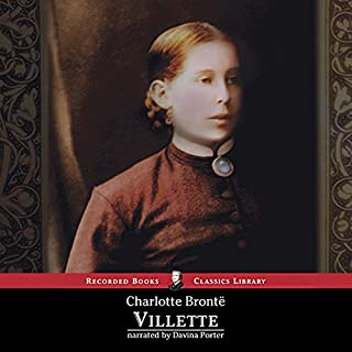 Villette audiobook cover art
