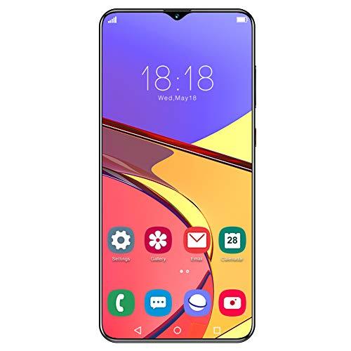 ciciglow Teléfono Android, 6.7IN 1440X3040 Desbloqueado Smartphone 8 + 256GB Desbloqueo de Huellas Dactilares Teléfono móvil con batería de 4800mAh para Android 10.0(Enchufe de la UE)