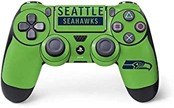Skinit Decal Gaming Skin for PS4 Controller - Officially Licensed NFL Seattle Seahawks Green Performance Series Design