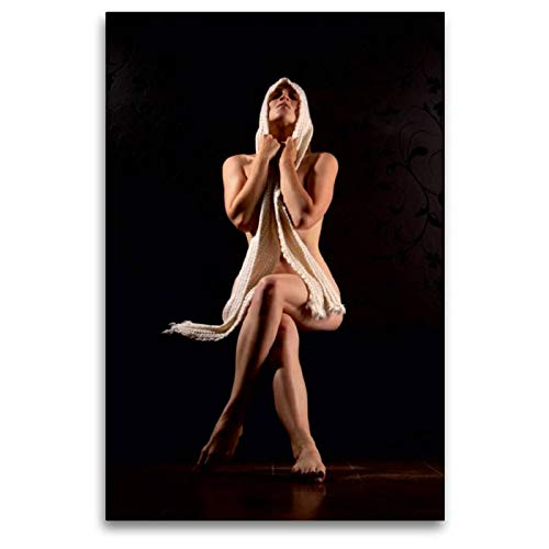 Premium Textil-Leinwand 80 x 120 cm Hoch-Format Woll-Lust | Wandbild, HD-Bild auf Keilrahmen, Fertigbild auf hochwertigem Vlies, Leinwanddruck von Stefan weis