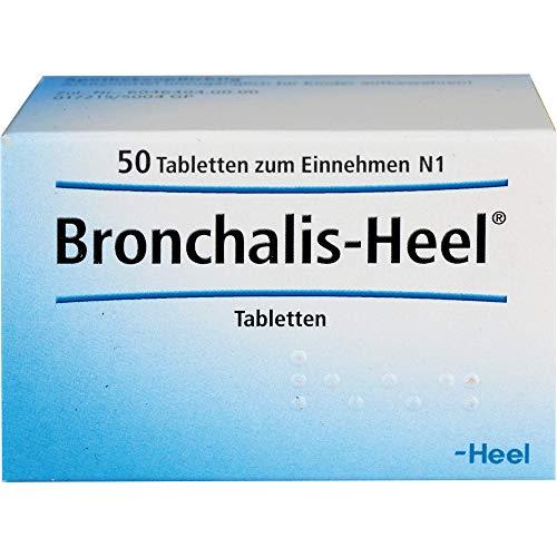 Bronchalis-Heel Tabletten bei Erkrankungen der Atemwege, 50 St. Tabletten