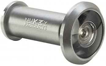 Nuk3y 220 Degree Wide Angle Heavy Duty Door Viewer, Satin Nickel