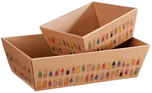 10Cesti regalo di Natale–Happy Tree, piccoli